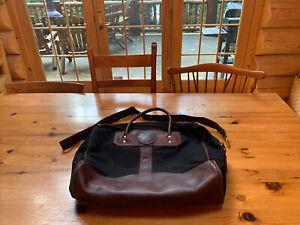 Duluth Pack Briefcase Day Bag Black VTG