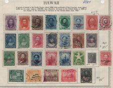 Hawaii mint & used lot