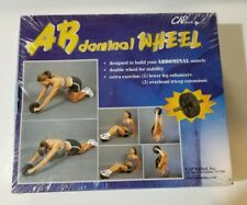 Cap Barbell, Ab Dominal Exercise Wheel, New Old Stock! Vintage, Factory Sealed!