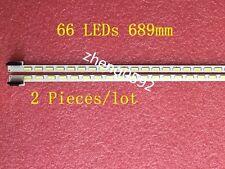 2 PCS*66LED LED backlight bar for LG 55LM6200 LC550EUN 6922L-0003A 6922L-0004A