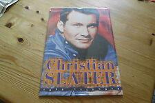 Christian Slater Kalender 1998,ovp in Folie, 42 x 30 cm Posterkalender