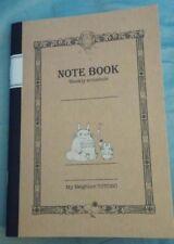 My Neighbor Totoro B6 notes Weekly schedule