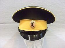 Schirmmütze Offizier mit Kokarde Besatzstreifen und Biese goldgelb, Zaristisch