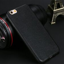 Luxury Ultra thin Leather Skin Soft TPU Case Cover For iPhone 6s 7 8 Plus XS Max