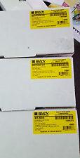 Lot/3 NIB New Brady B30 Ribbon Cartridges R10000-RD R4400-WT R6000 Blk