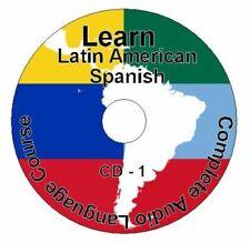 (8 CD Paquet) Apprendre Comment À Speak Latin Américain Espagnol Langue Facile /