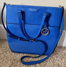 HENRI BENDEL. Blue Satchel / CrossBody. NEW Absolutely Gorgeous!!