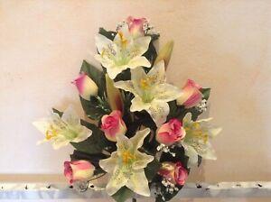 Mazzo di fiori finti