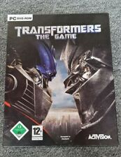 Transformers - The Game PC Spiel 2007 DVD Box