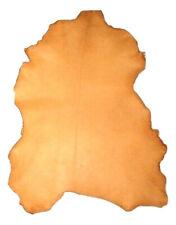 Thin 1.5 oz Golden Yellow Sheepskin Leather Hide Sheep Skins
