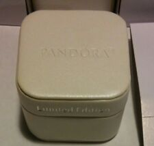 NEW AUTHENTIC PANDORA JEWELRY LIMITED EDITION SATIN SQUARISH CHARM GIFT BOX