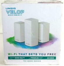 Linksys VLP0203 Velop AC4600 Whole Home Intelligent Mesh WiFi System, 3 Pack