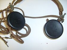 Vintage Military Headphones Headset HS-16A frm Crystal Radio Estate Consolidated