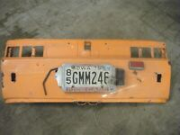 1971 fiat 850 sport coupe convertible rear engine  body filler panel