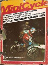 MiniCycle Magazine- Copy Of The 1974 World Mini Grand Prix Coverage Jeff Ward