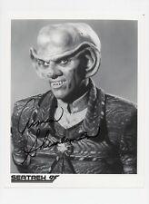 ARMIN SHIMERMAN Signed 10x8 Photo QUARK In STAR TREK COA