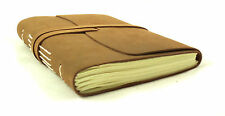 Vintage Leather Journal Diary Notebook Sketchbook Handmade Blank Classic Rustic