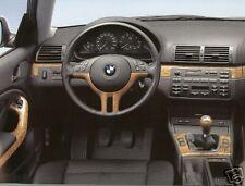 BMW OEM Genuine E46 Coupe Or Convertible 2000-2006 Birch Interior Trim Kit NEW