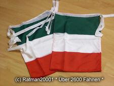 Fahnen Flagge Flaggenkette Italien 6 Meter Lang