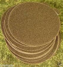 "50pc 5"" PSA STICK ON SANDPAPER DISC 120 GRIT USA Made da sand paper  round inch"