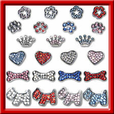 Rhinestone Charms Bling Accent Dog Cat Collar