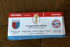 Sammler Ticket DFB Pokal SV Drochtersen Assel - FC Bayern München 18.08.18 FCB
