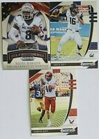 2020 Panini Prizm Draft Picks Los Angeles Rams Team Set (No RC) 3 Card Lot