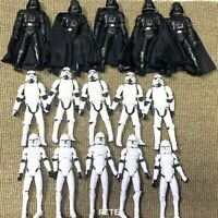 Lot Star Wars The Clone Wars Stormtroopers Clone Trooper No.5 Darth Vader Figure