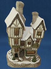 David Winter Cottage THE BOTTLE N GLASS #1091 *NIB* Pretty Piece* FREE SHIP