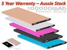100,000mAh Dual Fast USB Power Bank 2s QuickCharge Portable Battery PowerBank AU