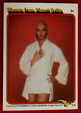 STAR TREK - MOVIE - Card #84 - WOMAN FROM PLANET DELTA, PERSIS KHAMBATTA - TOPPS