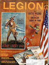 The American Legion Magazine November 1968 American Army WW1 VGEX 041516jhe