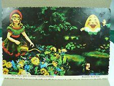 Mary Mary Quite Contrary / Humpty-Dumpty ROCK CITY Postcard near Chattanooga TN