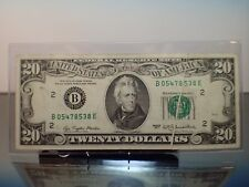 1977 $20 Gutter Fold Error Runs thru Serial and Seal On Both Obverse and Reverse