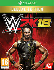 WWE 2K18 Deluxe Edition (Wrestling 2018) XBOX ONE IT IMPORT TAKE TWO INTERACTIVE