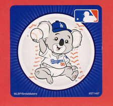 10 Los Angeles Dodgers Mascot - Large Stickers - Major League Baseball