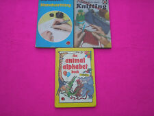 COLLECTABLE BOOKS 'LADY BIRD'  CHILDRENS LEARNING BOOKS X 3 BOOKS.
