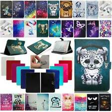 """For Samsung Galaxy Tab 3/4/Note 7""""~10.1"""" Tablet Pattern Fold Leather Case Cover"""