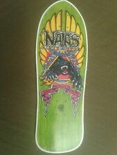 "Santa Monica Airlines Natas replica Skateboard Deck Shaped Sticker over 7"""