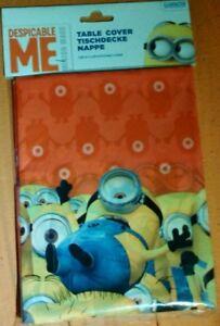 Die Minions Tischdecke Geburtstag  ca.180x120 cm NEU OVP Minion Birthday