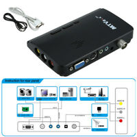 HDTV HD LCD TV Tuner BOX Digital Computer Analog TV Program Receiver Black