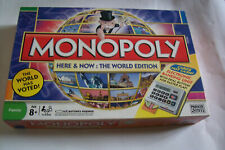 2008 Monopoly Board game Here and Now World Edition