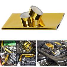 Gold Hitzeschutzfolie selbstklebend Hitzeschutz band Turbo Motor Isolierblech