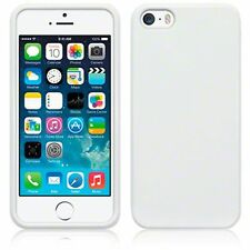 For Apple iPhone 5/5S Slim TPU Gel Silicone Skin Back Case Cover