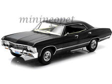 GREENLIGHT 19014 SUPERNATURAL with OHIO LICENSE PLATE 1967 CHEVROLET IMPALA 1/18