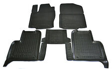 Rubber Car Floor Mats All Weather Custom fit Mercedes-Benz W166 ML 2011-2015