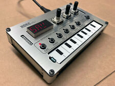Korg NTS-1 Overlay - Cover Laser Cut Roland TB-303 STYLE ALUMINUM / BLACK