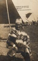 RP: GERONIMO - The Greatest Indian chief as a U.S. Prisoner , 1909
