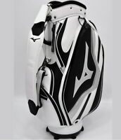 "Mizuno 2019 RB Style Men Caddie Bag Cart 9.5"" 8.5lb 5Way PVC Enamel White+Sliver"