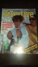 master detective magazine november 1980 good condition for age